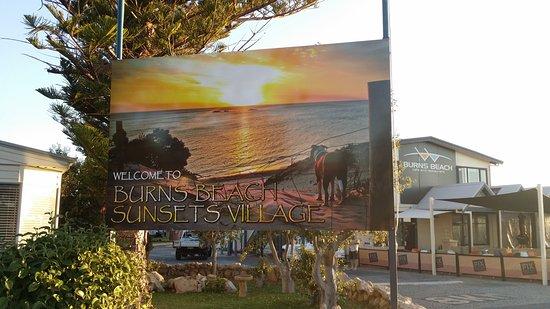 Burns Beach Sunset Village Photo