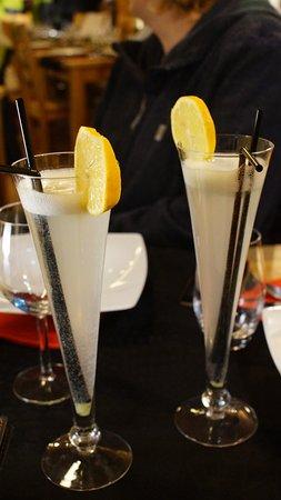 Les Orres, France: Diner, on se lâche: Cocktails :)