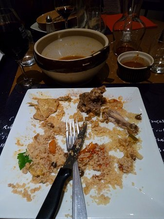 Blaye, France: couscous