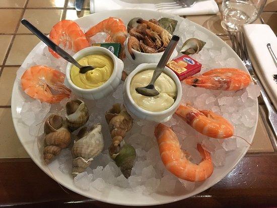 Saintes, Frankrig: Un repas en amoureux qui c est très bien dérouler un accueil très sympathique des entrées copieu