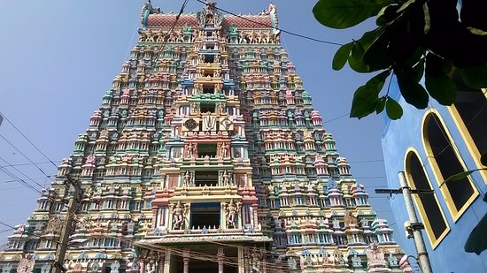 Rajagopuram of Andal Temple at Srivilliputhur