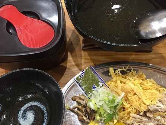 Amami, Japan: 鶏飯一式