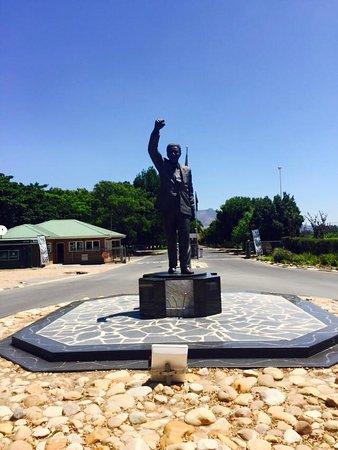 Paarl, Afrique du Sud : Nelson Mandela Statue