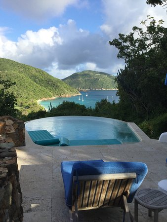 Guana Island: Private Swimming Pool