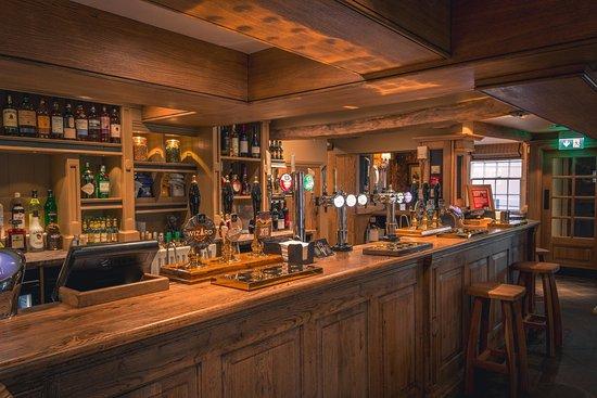 Frodsham, UK: Bar Area