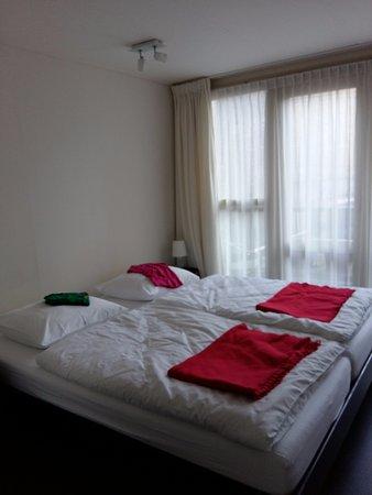 Schiedam, เนเธอร์แลนด์: De bedden zijn beter dan thuis ;-)