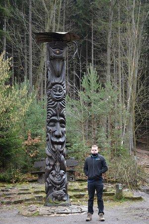 Jicín, República Checa: Totem pole