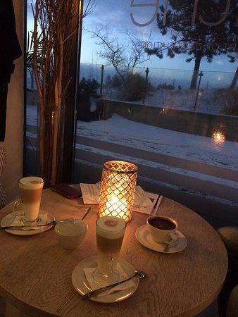 Mielno, Poland: ciepło i przytulnie w mroźny styczniowy wieczór