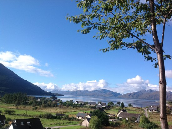 North Ballachulish, UK: view from upper decking - Oct 2016