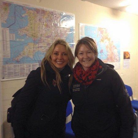 Crosby on Eden, UK: We had a visit from Carol Vorderman