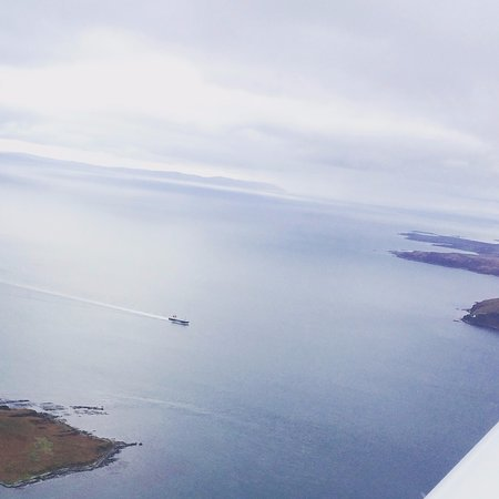 Crosby on Eden, UK: There's always something new to see when you go flying.