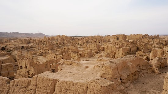 Turpan, Chine : Ruins
