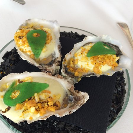 Overveen, The Netherlands: Amuse met oesters