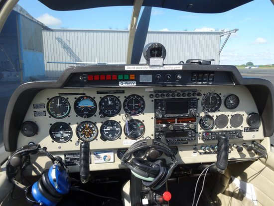 Crosby on Eden, UK: Fancy taking the controls of an aircraft?  Book a Trial Flight Lesson with us today!