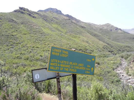 Tsehlanyane National Park, Lesotho: Wanderwege Maliba Lodge