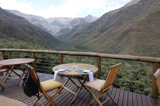 ‪‪Tsehlanyane National Park‬, ليسوتو: Terrasse Maliba Lodge‬