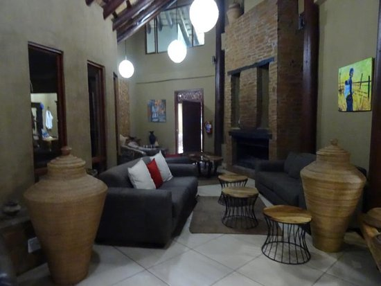 Tsehlanyane National Park, เลโซโท: Lounge-Bereich Maliba-Lodge