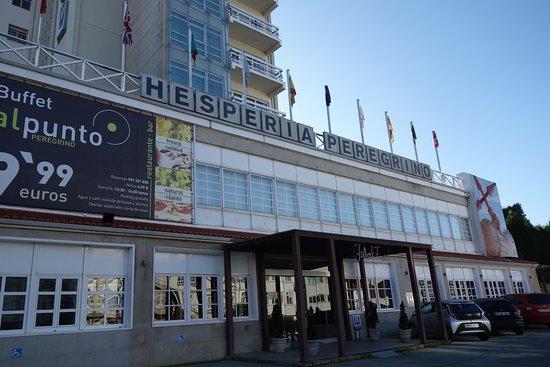 Entrada Del Hotel Desde La Calle Picture Of Hesperia Santiago Peregrino Santiago De Compostela Tripadvisor