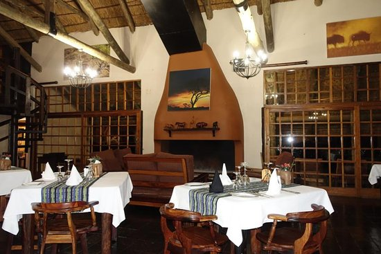 Kimberley, South Africa: Restaurant Mosu Lodge