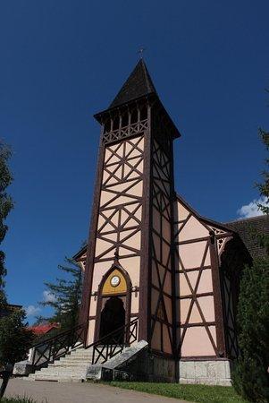 Stary Smokovec, Słowacja: Ingresso e campanile
