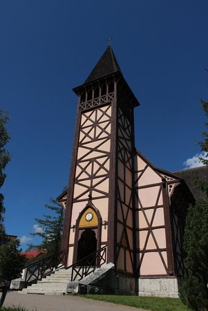 Stary Smokovec, Slowakei: Ingresso e campanile