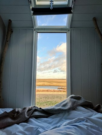 Sheerness, UK: View from bed