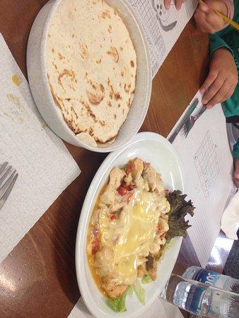 Vega de San Mateo, Spanien: Una muestra del menú. Fantástico todo