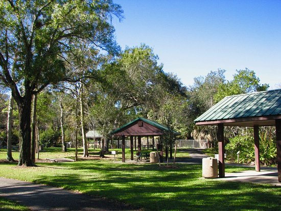 Boyd Hill Nature Preserve : Picnic areas