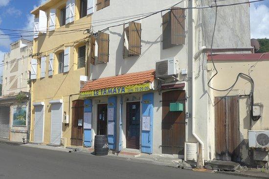 Saint-Pierre, Martinique: Entrée du restaurant