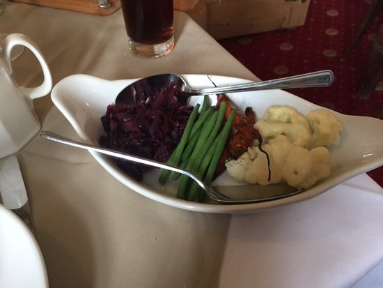 Shaftesbury, UK: Veg