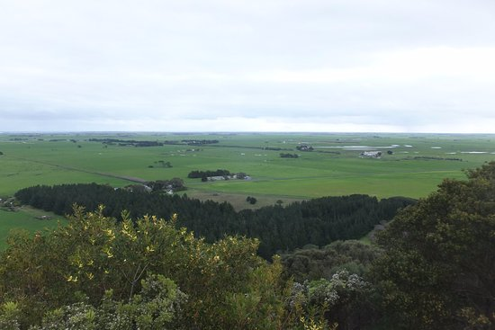 Mount Gambier, Austrália: View from the crater rim