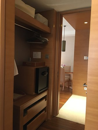 Hotel Okura Macau Walk In Closet Connecting Bedroom And Living Room