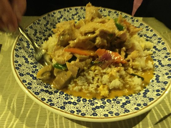 Cabo Roig, Spain: Red Thai Curry