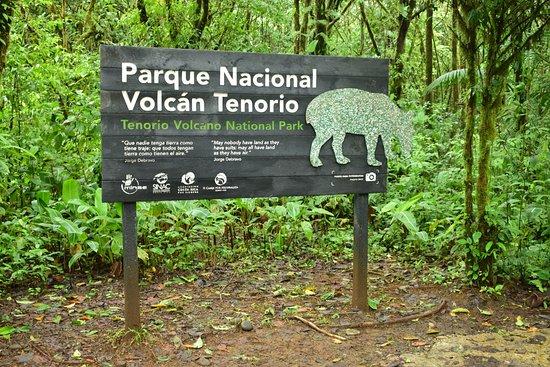 Tenorio Volcano National Park, Costa Rica: Inicio sendero Parque Nacional Volcan Tenorio