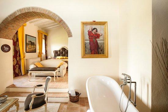 Cinigiano, Italia: Suite Scuderia
