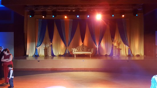 Rolling Meadows, IL: Back drop for Dance Floor