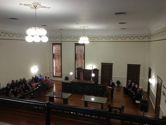 Bartow, Floryda: Courtroom 1908