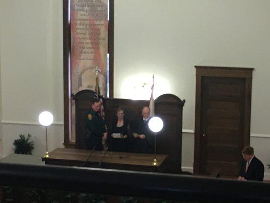 Bartow, Floryda: Swearing In Ceremony - Sheriff Grady Judd