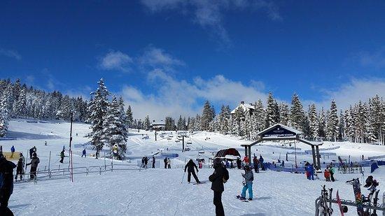Truckee, CA: Near the ski school and lodge