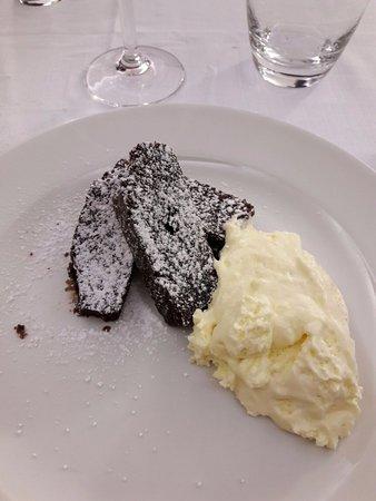 Samboseto, Italie : Torta tipo Barozzi con mascarpone