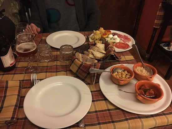 Castelforte, Ιταλία: Antipasto