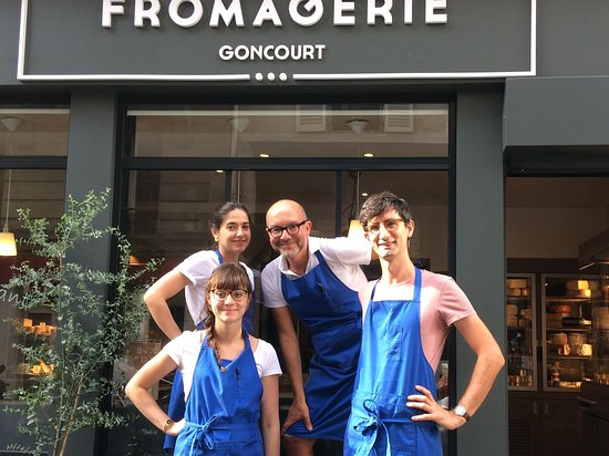 Photo of Tourist Attraction Fromagerie Goncourt at 1 Rue Abel Rabaud, Paris 75011, France