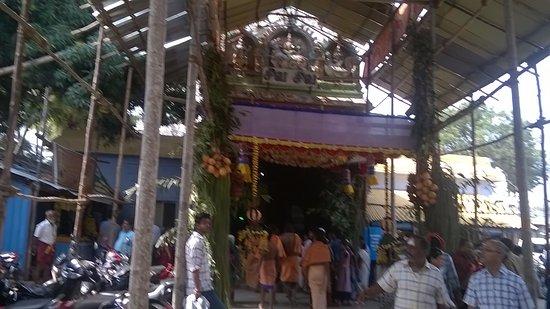 Thanumalayan temple - Sthanumalayan Kovil : entrance to Suchindram Thanumalayan Temple