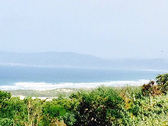 Grootbos Private Nature Reserve, แอฟริกาใต้: Gorgeous view from our suite verandah and the lodge terrace