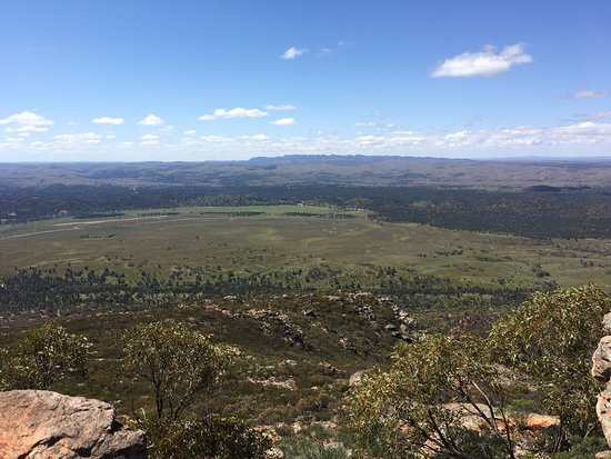 Flinders Ranges National Park, Australie : View from the top of Mount Ohlssen-Bagge