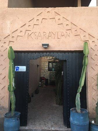 Riad Ksar Aylan : 入り口