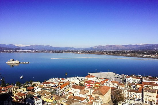 Nafplio from above!