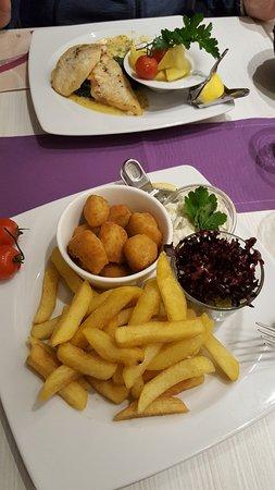 Ribnitz-Damgarten, Allemagne : Fisch and Chips