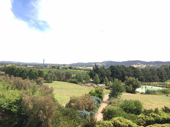 Yarra Glen, Australia: View from the balcony