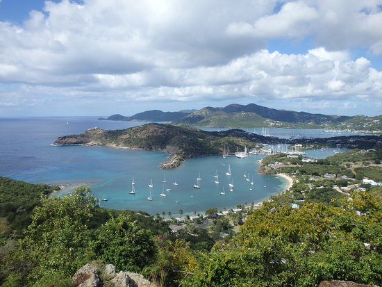 Englis Harbour, Antigua: a great view